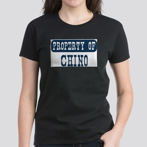 Property of Chino Women's Dark T-Shirt