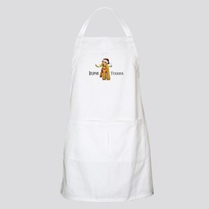 Irish Terrier Santa Apron