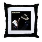 JordanCornblog Throw Pillow