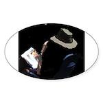 JordanCornblog Oval Sticker (50 pk)