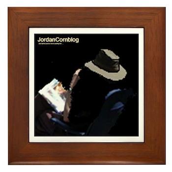 JordanCornblog Framed Tile