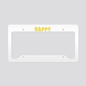 Happy First Day Of School License Plate Holder