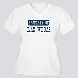 Property of Las Vegas Women's Plus Size V-Neck T-S