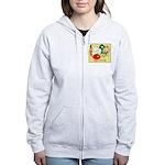 Veggie Friendly Women's Zip Hoodie