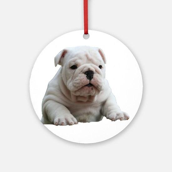 Bulldog 1 Ornament (Round)