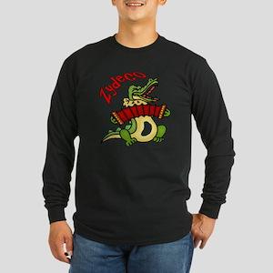 Zydeco Gator Long Sleeve Dark T-Shirt