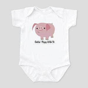 Gettin' Piggy Infant Bodysuit
