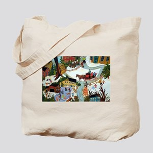 WINTER WONDERLAND DETAIL Tote Bag