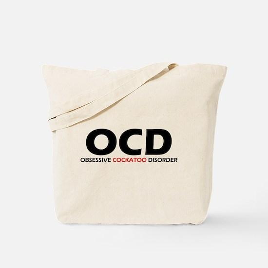 Obsessive Cockatoo Tote Bag