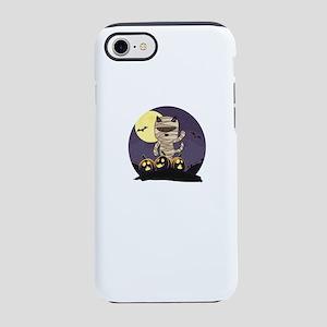 Mummy Cat Halloween iPhone 8/7 Tough Case