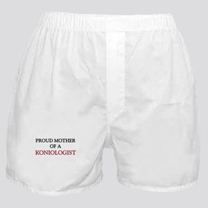 Proud Mother Of A KONIOLOGIST Boxer Shorts