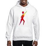 Jazz Dancer #1 Hooded Sweatshirt