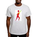 Jazz Dancer #1 Ash Grey T-Shirt