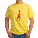 Jazz Dancer #1 Yellow T-Shirt
