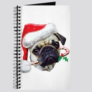 Pug Christmas Journal