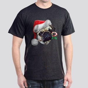 Pug Christmas Dark T-Shirt