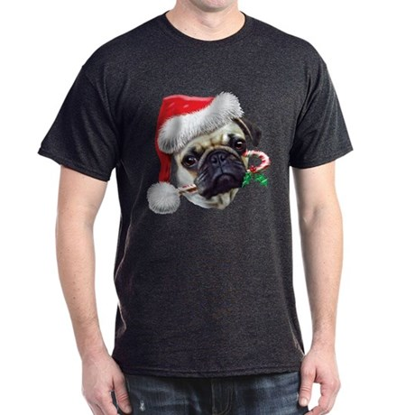 Pug Christmas Dark T-Shirt
