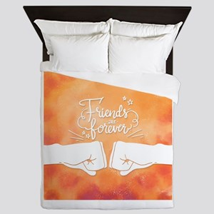 Best friends forever Queen Duvet