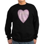 Pink Heart Sweatshirt (dark)