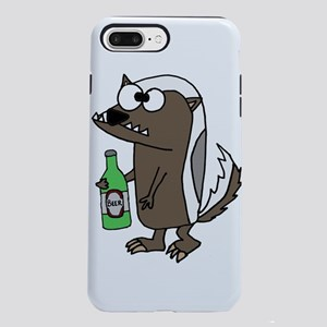 Cool Badger Drinking Be iPhone 8/7 Plus Tough Case