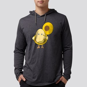 Tuba Player Egghead Long Sleeve T-Shirt