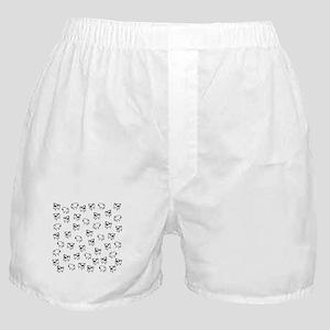 Pug dog pattern Boxer Shorts