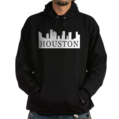 Houston Skyline Hoodie (dark)