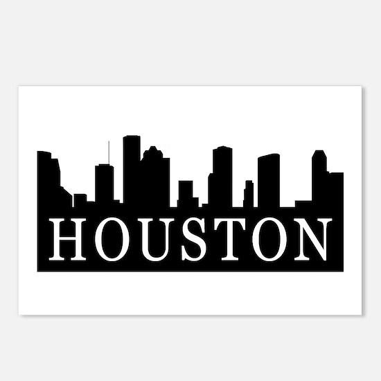 Houston Skyline Postcards (Package of 8)