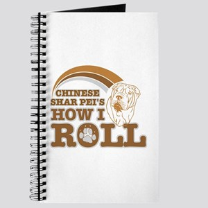 chinese shar pei's how I roll Journal