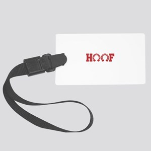 Horse-Talk To The Hoof Large Luggage Tag