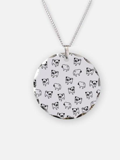 Pug dog pattern Necklace