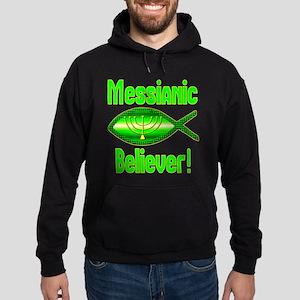 Messianic Believer! Hoodie (dark)