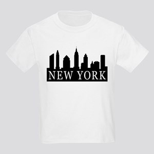New York Skyline Kids Light T-Shirt