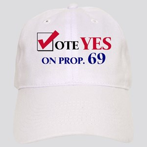 Vote YES on Prop 69 Cap
