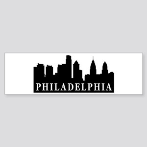 Philadelphia Skyline Bumper Sticker