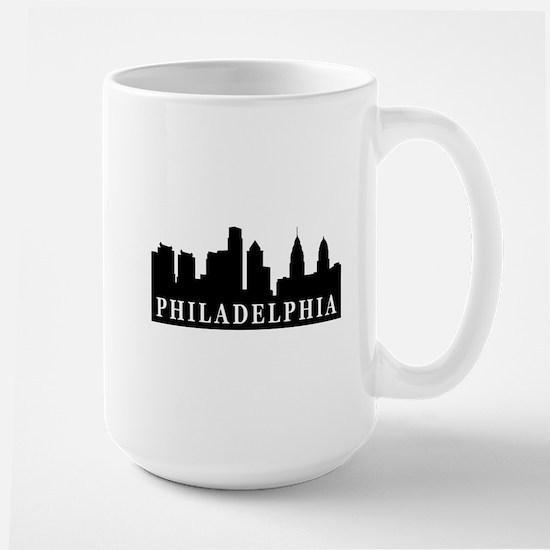 Philadelphia Skyline Large Mug