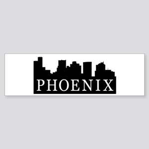 Phoenix Skyline Bumper Sticker