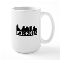 Phoenix Skyline Large Mug