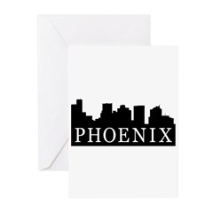 Phoenix Skyline Greeting Cards (Pk of 10)