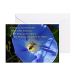 The bee is more honored ~ Cards (Pk of 10)