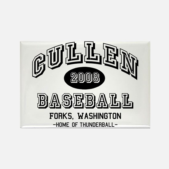 Cullen Baseball 2008 Rectangle Magnet