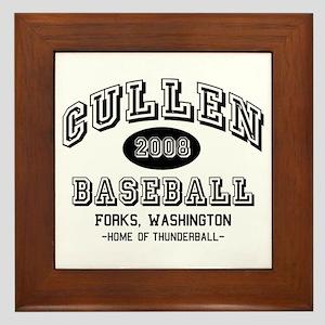 Cullen Baseball 2008 Framed Tile