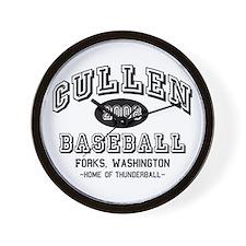Cullen Baseball 2008 Wall Clock