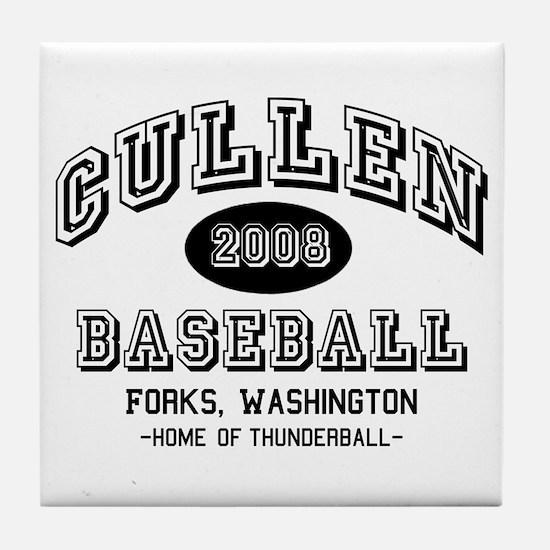 Cullen Baseball 2008 Tile Coaster