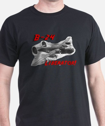 "B-24 ""Comin' through!"" T-Shirt"