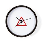 Beware of the buck Wall Clock