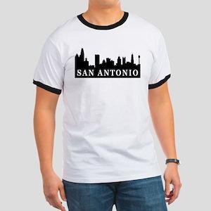 San Antonio Skyline Ringer T