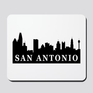 San Antonio Skyline Mousepad