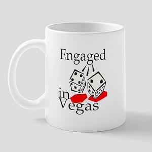 Engaged In Vegas Mug