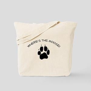 Where's the Moose! Tote Bag